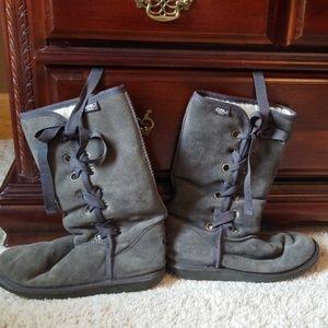 Emu Australia wool suede boots